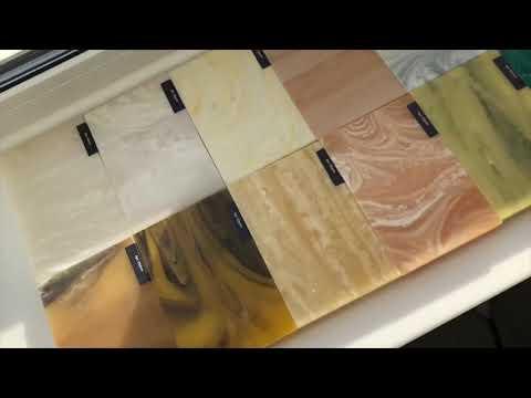 Искусственный оникс с подсветкой обзор. Столешницы, панно, Раковины