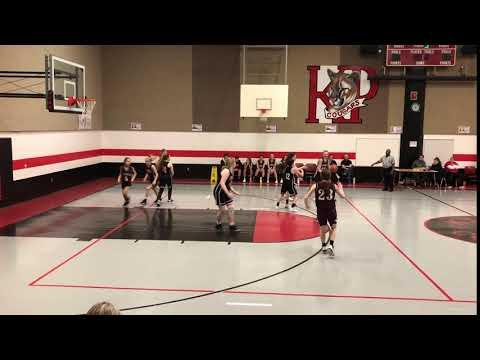 Goodman Middle School vs Key Penn MS 2020 #13 Drive