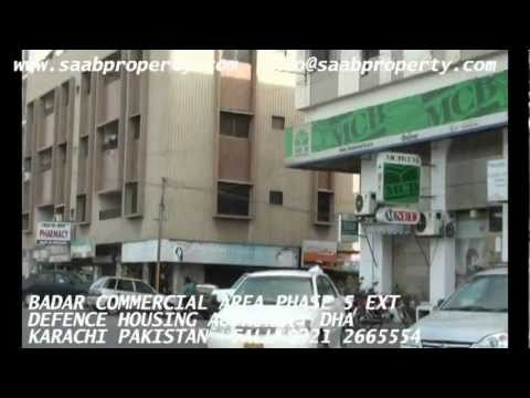 BADAR COMMERCIAL AREA PHASE 6 DHA KARACHI PAKISTAN ENGLISH realestate in defence housing authority