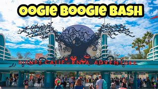 Oogie Boogie Bash First Look Opening Day | 5 Immersive Treat Trails | Disney California Adventure