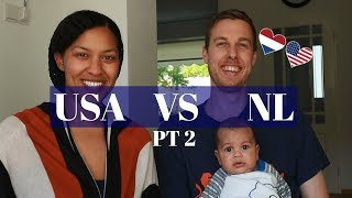 USA vs NL || Life in the Netherlands: 10 differences Pt 2