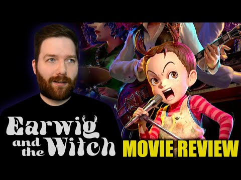 Earwig and the Witch – Movie Review