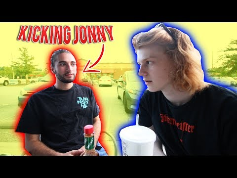 KICKING JONNY OUT OF CUFBOYS EXTREMELY HARD