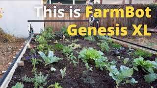 This is FarmBot Genesis XL Trailer