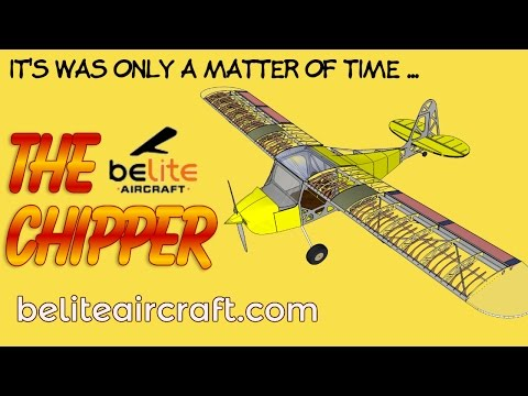 Chipper, Belite Aircraft's Chipper two seat experimental aircraft, in taildragger or tricycle gear