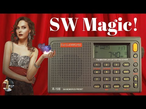 """Meet the Wizard"" RADIWOW R-108 Radio 