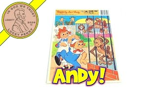 Raggedy Ann and Andy Frame Tray Puzzle #4512D-40 1984