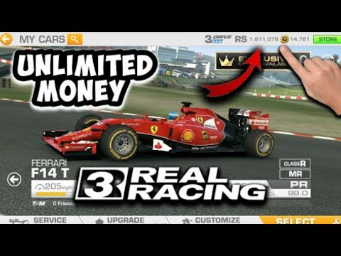 Real Racing 3 APK MOD V.7.4.6 : Unlimited Money Unlock All Cars Hacked Real Racing 3