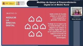 Jornada técnica sobre medidas de apoyo al emprendimiento en el medio rural
