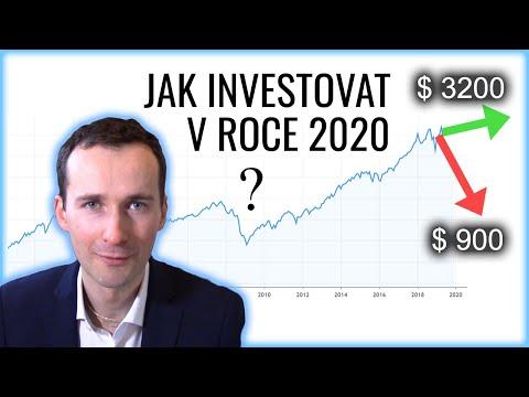 Jak investovat v roce 2020? Předpovědi finanční krize a praktický rádce