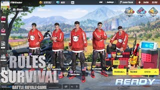 Rules of Survival - SUNBEAM SUIT SQUAD CHALLENGE!
