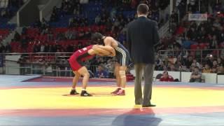 Николай Охлопков не смог побороть Начына Куулара в финале весовой категории до 60 кг