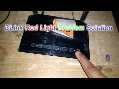 DLink Router Red Light Problem Solution (Easy Solution)