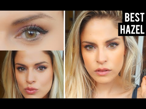 Best Natural Color Contacts For Dark Eyes