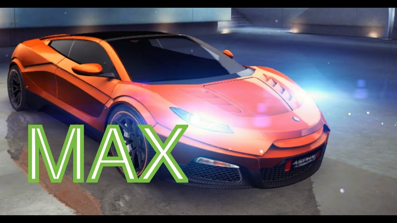 Asphalt 8 - Savage Rivale Roadyacht GTS - MAX - YouTube