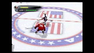 NHL 2003 (PLAYSTATION) Canada vs US