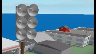 Roblox Tornado Siren #9: Federal Signal EOWS 612 At Lakewood City, Westminster Chimes & Alert