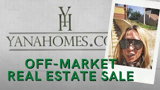 Off-market Real Estate sale | Продажа недвижимости в Лос Анджелесе