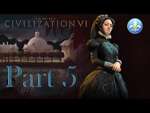 Civilization 6 France - Traders (05)