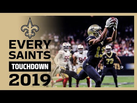Every Saints Touchdown from 2019 NFL season | New Orleans Saints