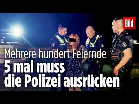 Randale bei Teenie-Party in Hamburg: Jugendliche gehen mit Flaschen gewaltsam auf Polizisten los