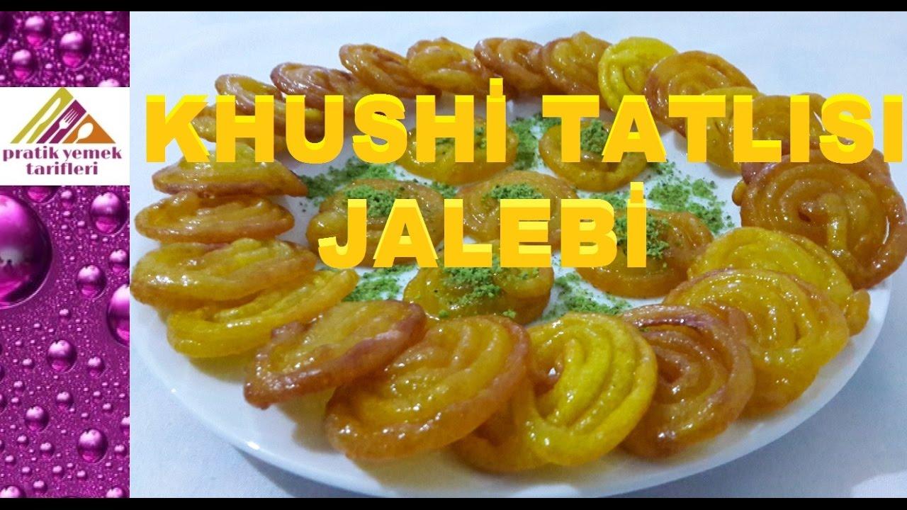 Nefis Hint Tatlısı(Jalebi) Tarifi