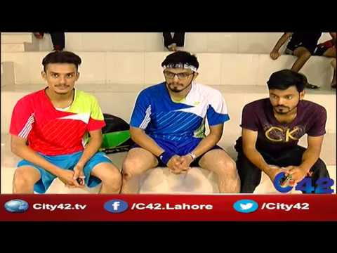 42 Report:  Beginning of All Pakistan National Badminton Championship ranking
