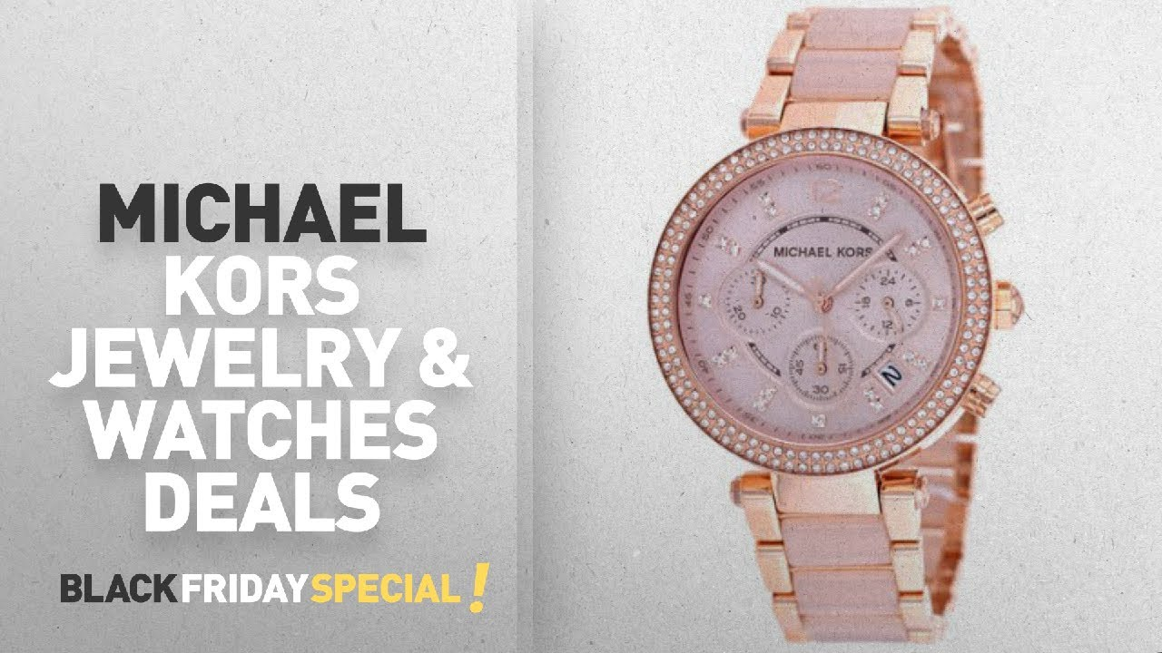 b0205cae4b39 Walmart Top Black Friday Michael Kors Jewelry & Watches Deals: ...