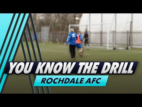 Jimmy Bullard's Toughest Drill Yet   You Know The Drill - Rochdale AFC with Callum Camps