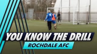 Jimmy Bullard's Toughest Drill Yet | You Know The Drill - Rochdale AFC with Callum Camps