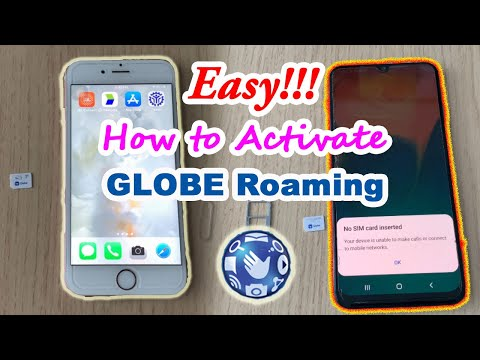 Easy: How to Activate Globe Roaming for Android and iPhone