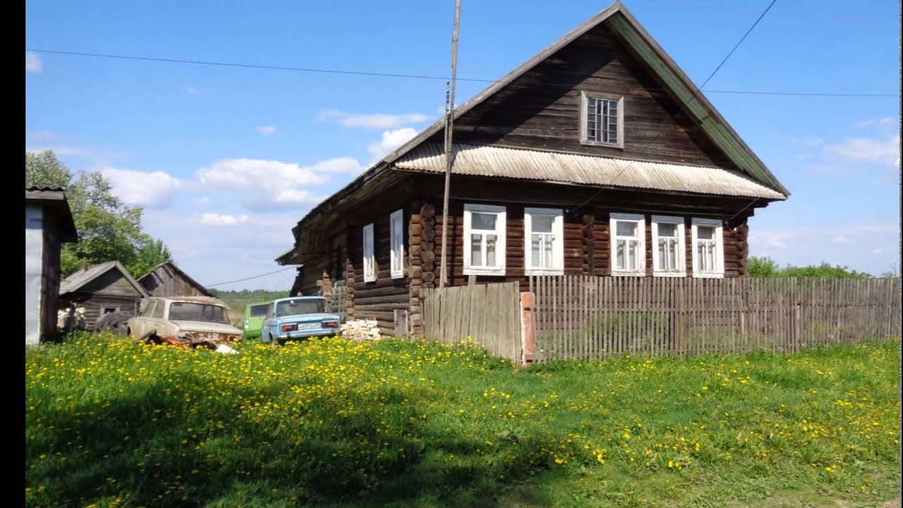 Ролик купить дом в деревне тверской области - YouTube