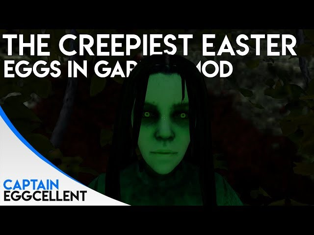 The Creepiest Easter Eggs In Garrys Mod