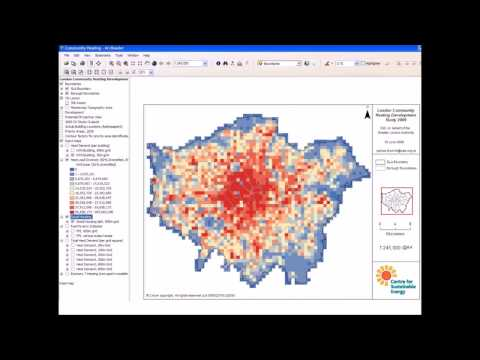 London heat mapping and planning for district energy