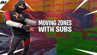 [EU] MOVING ZONE CUSTOM SCRIMS GAMES | JOIN UP! | Fortnite Battle Royale LIVE