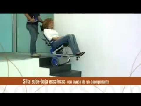 Silla sube escaleras liftkar pt s 130 youtube
