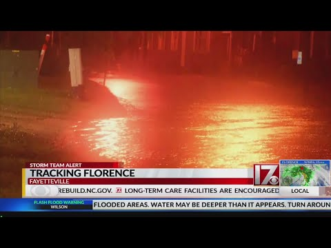 Cape Fear River reaches flood stage