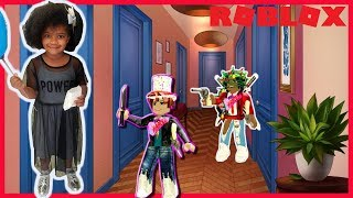 ROBLOX-MOM HEROINE SAVED ME (Murder Mystery 2) | Play MARCELA