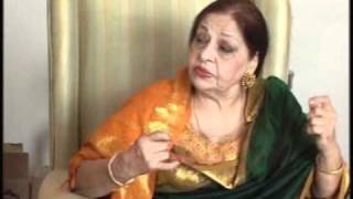 Farida Khanum - Interviewed by Ravinder Kaul - Part 1