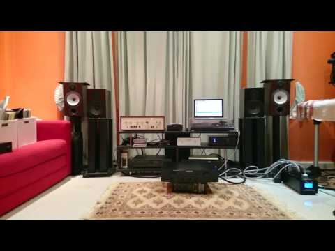 Luxman SQ503X with NHT SuperOne