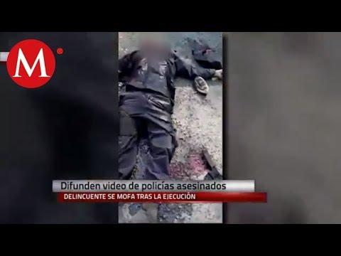 Revelan video de policías ejecutados en Petatlán, Guerrero