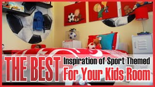 Kids Room Sports Decor