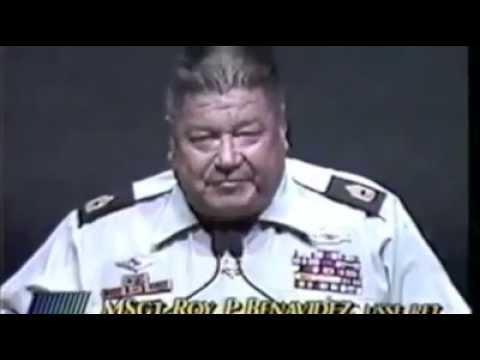 Medal of Honor Recipient, Master Sergeant Roy Benavidez