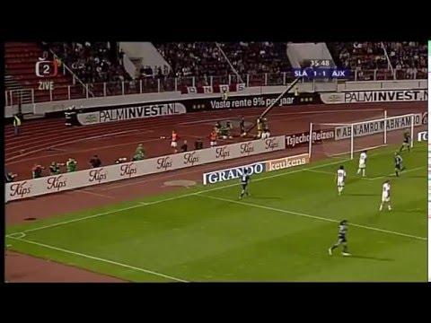 SK Slavia Praha  - Ajax Amsterdam  2-1    29.8.2007  celý zápas