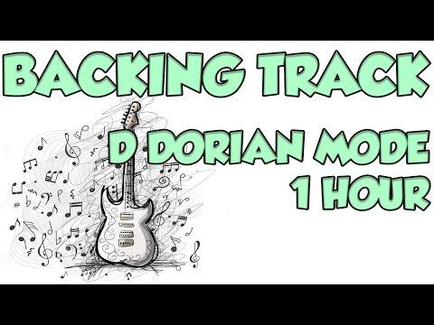 D DORIAN MODE - 1 HOUR BACKING TRACK