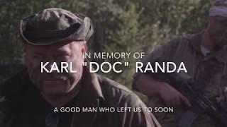 Memorial for Actor and Soldier karl Randa