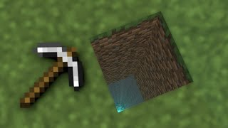 MINECRAFT BUT YOU HAVE TO DIG STRAIGHT DOWN!