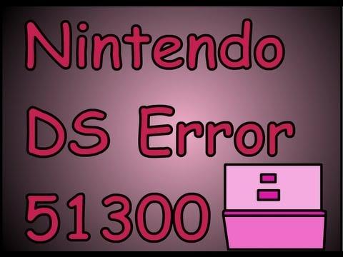 Nintendo DS Error 51300 Solucion