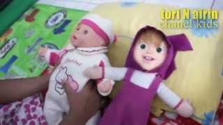 Giggles & Coos Baby Dolls Children Games - Mainan Anak Boneka Lucu - Masha