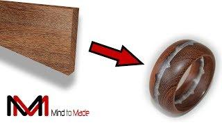 Wood Turning Epoxy Resin | Board to bangle!